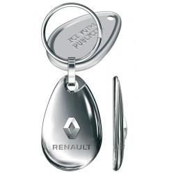 Porte-clés Renault Galet 3D, tout métal