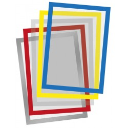 Porte-affiche repositionnable