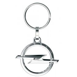 Porte-clés Opel Logo 3D ajouré, tout métal