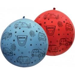 Ballons géants Dacia multicolores