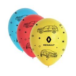Ballons Renault multicolores