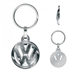 Porte-clés Volkswagen Logo 3D ajouré, tout métal