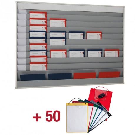 50 porte-OR + Planning atelier de capacité 10x5