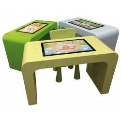 TABLE TACTILE ENFANT 23""