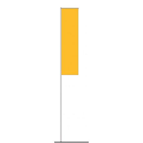 DACIA / RENAULT CORPORATE FLAG YELLOW