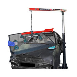 MOTORISED WINDSHIELD INSTALLATION/REMOVAL SYSTEM