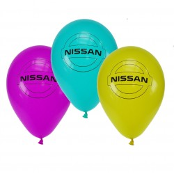 """Nissan"" Balloon, different colors Ø 30cm"