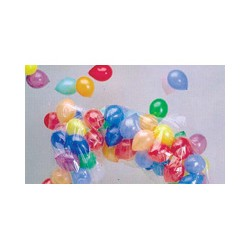 Plastic sheath for realease of balloons