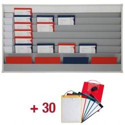 30 Werkplaatsmappen + Planningsbord