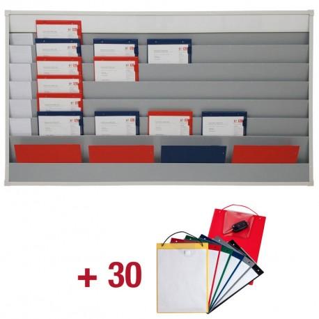 10 porte-OR + Planning atelier de capacité 10x1
