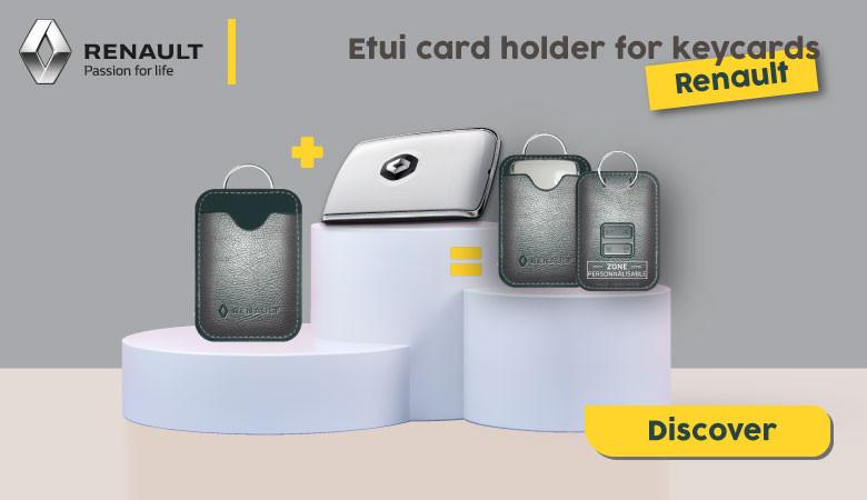 ETUI FOR KEYCARDS RENAULT