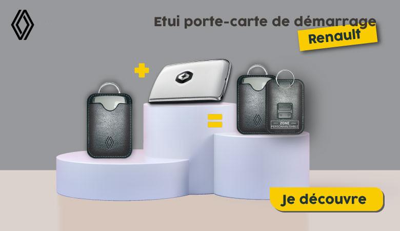 ETUI PORTE-CARTE DE DÉMARRAGE RENAULT