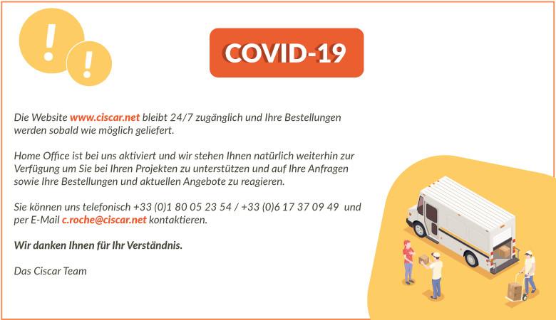 Infolge der COVID-19