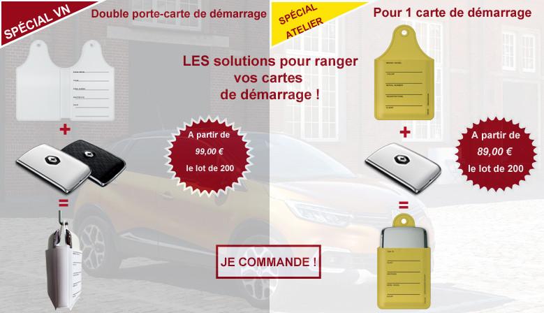 porte carte atelier Renault