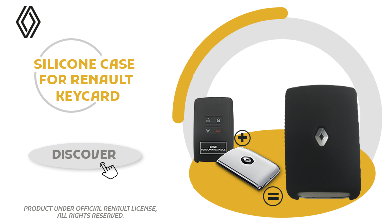 SILICONE CASE FOR RENAULT KEYCARD