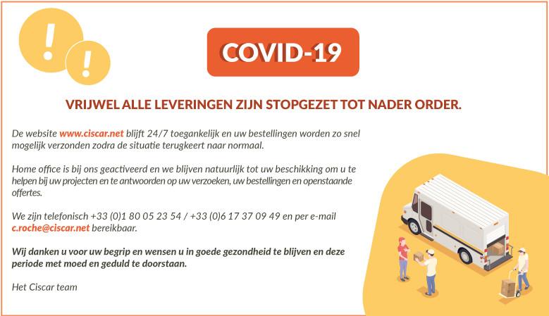 Als gevolg van de COVID-19