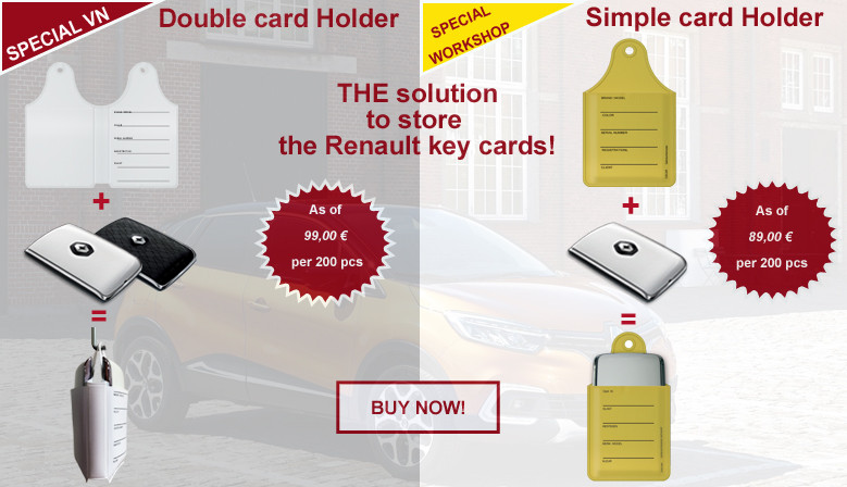 Card holder RENAULT